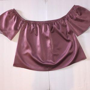 Reformation Cicely silk top